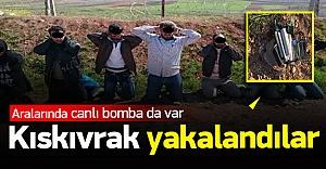 Türkiye'ye girmeye çalışan canlı bombalar yakalandı