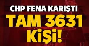 CHP yine karıştı! 3 bin 631 kişiye ihraç