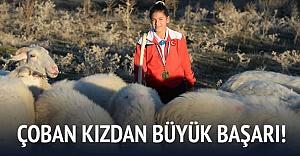 Çoban kız şampiyon oldu