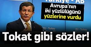 Davutoğlu'dan PKK çadırına sert tepki
