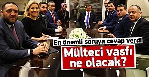 Davutoğlu: Mülteci konusunda AB ile anlaştık