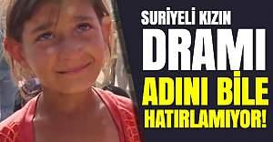 Dünya adını hatırlamayan Suriyeli kızı konuşuyor
