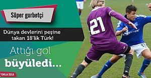 Dünya devlerini peşine takan 18'lik Türk!