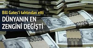 Dünyanın en zengini değişti