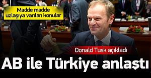 En üst ağızdan Türkiye ile anlaştık açıklaması