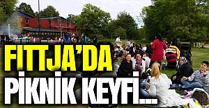 Fittja'da aileler piknikte biraraya geldi