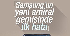 Galaxy S7 Edge'de ilk sorun ortaya çıktı
