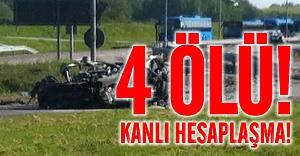 Göteborg'da kanlı hesaplaşma 4 ölü!