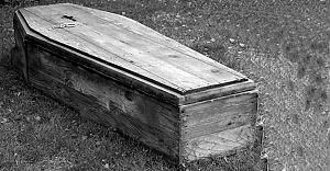 Göteborg mezarlığında geçici olarak tutulan ceset korku saçtı!
