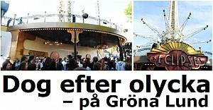 Gröna Lund'da feci ölüm