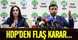 HDP'den flaş karar! Onay verildi