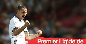 Ibrahimovic ilk lig maçında gol attı - İZLE