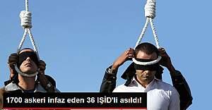 Irak'ta 36 IŞİD Militanı İdam Edildi