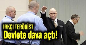 Irkçı terörist Breivik devlete dava açtı