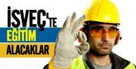 İş güvenliği için İsveç'te eğitim alacaklar