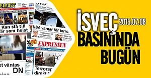 İsveç basınında bugün 08.07.2015