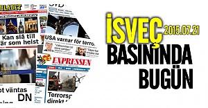 İsveç basınında çıkan günün önemli haberleri