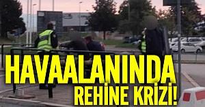 İsveç Havalananında rehine krizi!