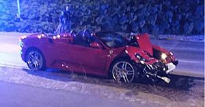 İsveç'in Ferrarili magandası ortalığı birbirine kattı