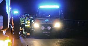 İsveç'te kamyon şoförü adamı biçti kaçtı!