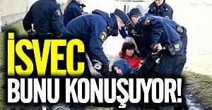 İsveç polisinden zorla sınır dışı!