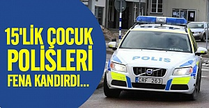İsveç polisine hırsızlık şakası!