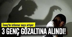 İsveç'te 3 genç cinsel istismardan gözaltında