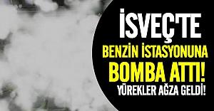 İsveç'te benzin istasyonuna bomba atıldı!