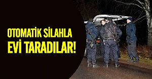 İsveç'te çete hesaplaşması evi taradılar!