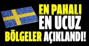 İsveç'te elektriğin en pahalı ve en ucuz olduğu bölgeler açıklandı