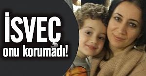 İsveç'te eşi tarafından öldürülen kadının cenazesi Türkiye'ye gönderildi