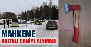 İsveç'te eski eşe baltayla saldıran caninin cezası belli oldu