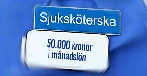 İsveç'te hemşirelere 50 bin kron maaş teklifi