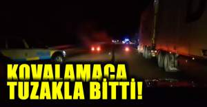 İsveç'te hırsız polis kovalamacası tuzakla bitti