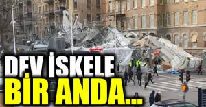 İsveç'te iskele çöktü!