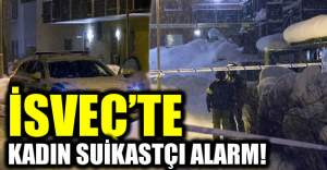 İsveç'te kadın suikastçı kurbanı başından vurdu!