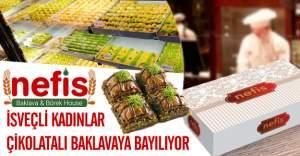 İsveç'te yeni trend Nefis Baklava