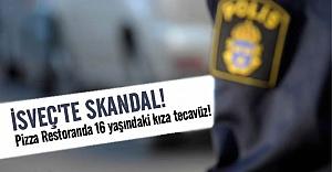 İsveç'te Pizza Restoranda skandal tecavüz!