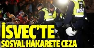 İsveç'te polise  twitter'dan hakarete para cezası