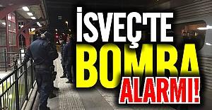 İsveç'te terör alarmı tren boşaltıldı
