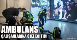 İsveç'te terör saldırılarına karşı ambulans personeline özel eğitim