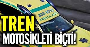 İsveç'te tren motosiklete kazası 1 ölü