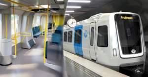 İsveç'te yeni metroların içi böyle olacak