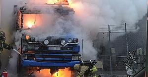 İsveç'te Kamyon şoförlüğü ölümcül bir meslek!