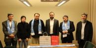 İsveç'te ki Uygur Derneklerinden Bakan Kaplan'a destek ziyareti...