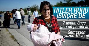 İsviçre'den mültecilere karşı ağır uygulamalar