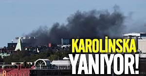 Karolinska yanıyor!