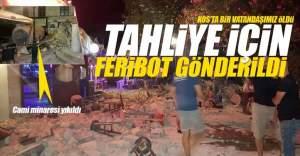 Kos Adası'ndaki Türkler için feribot gönderildi