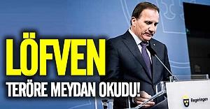 Löfven: İsveç teröristler için güvenli bir sığınak olmayacak!