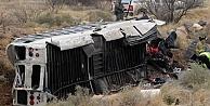 Mahkumları taşıyan otobüs trenle çarpıştı herkes öldü!